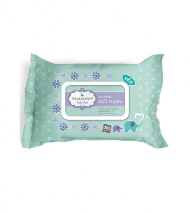 pharmasept-tol-velvet-baby-soft-wipes-30-τμχ